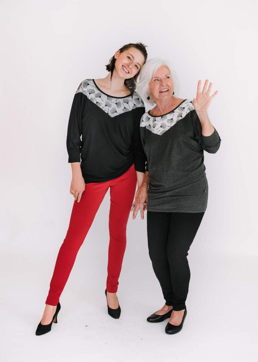 Top Alizé et pantalon Délice