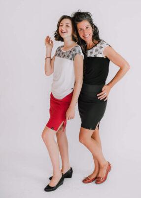 Top Mimi et Jupe Frisson